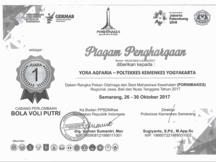 YOGA AGFARIA_JUARA 1 PORNIMAKES II Se Jawa, Bali, Nusa Tenggara